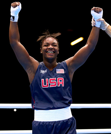 CLARESSA SHIELDS: The USA's last boxing medal hope.