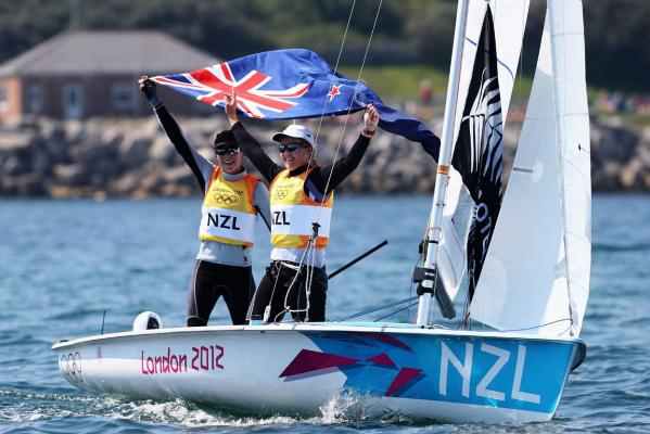 Kiwi 470 women claim gold