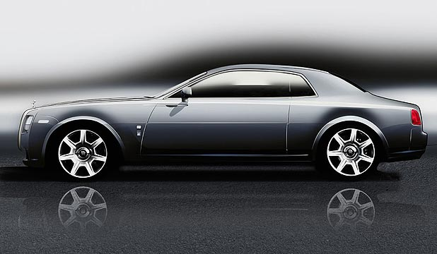 Rolls-Royce Ghost Coupe.