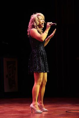 Country Music Horizon Award winner Jody Direen performs at the 7th National Country Music Awards at Founders Theatre.