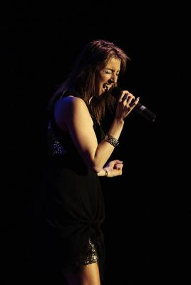 Vicki Evans performing at the 7th National Country Music Awards at Founders Theatre.