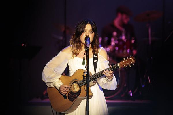 Kylie Price performs at the 7th National Country Music Awards at Founders Theatre.