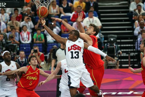 Olympic men's basketball final