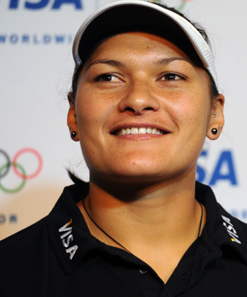 CHAMPION ONCE MORE: Valerie Adams is to be awarded the gold medal after her rival Nadzeya Ostapchuk failed a drug test.