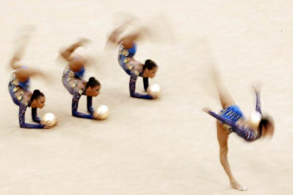Bulgaria gymnasts