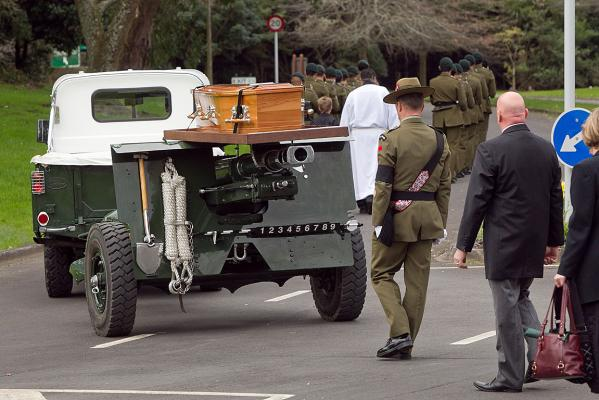 Funeral for Lance Corporal Rory Malone