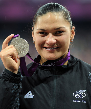 ALL BLACK GOLD: Thousands of Kiwis are supporting the idea of Adams receiving her gold medal at the All Blacks game at Twickenham in December.