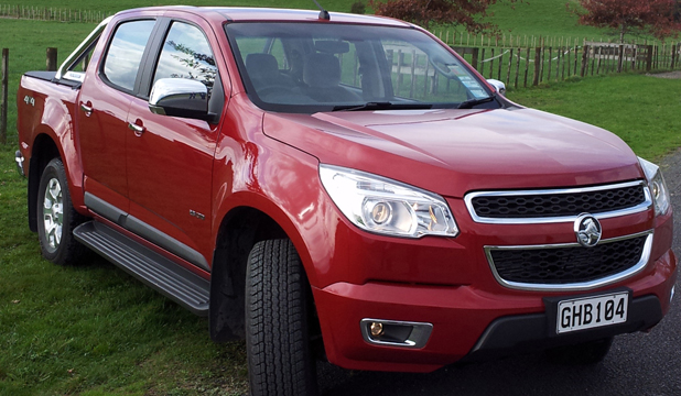 Holden Colorado LTZ Crew Cab.