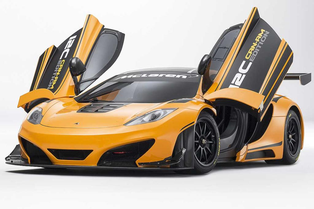 McLaren 12C Can-Am Edition concept.