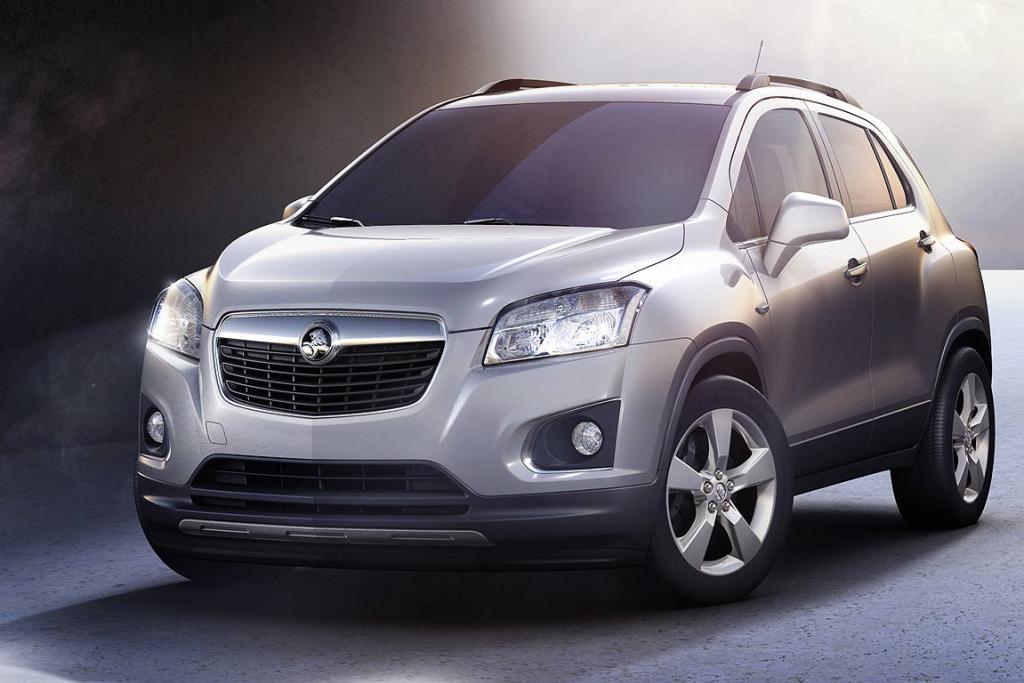 GM's Holden/Chevrolet Trax.