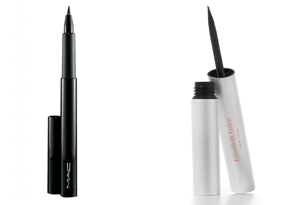 M.A.C Penultimate, $40 (L) and Elizabeth Arden eyeliner, $49, out on September 2nd