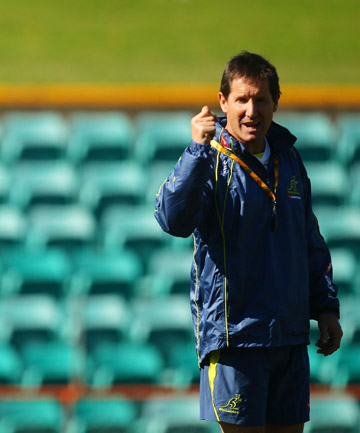 MARSHALL'S BACKING: Wallabies coach Robbie Deans.