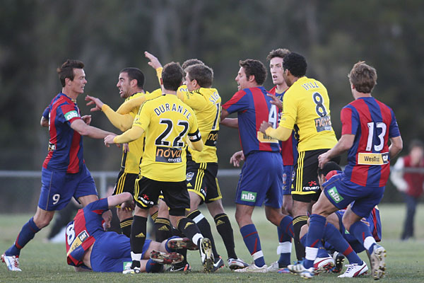 Wellington Phoenix brawl