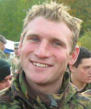 KILLED IN FIREFIGHT: Lance Corporal Rory Malone died only two weeks ago.