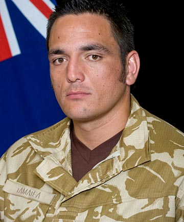 LUKE TAMATEA: 'He was a nice easy going guy, clean cut and huge mountain of a man.'