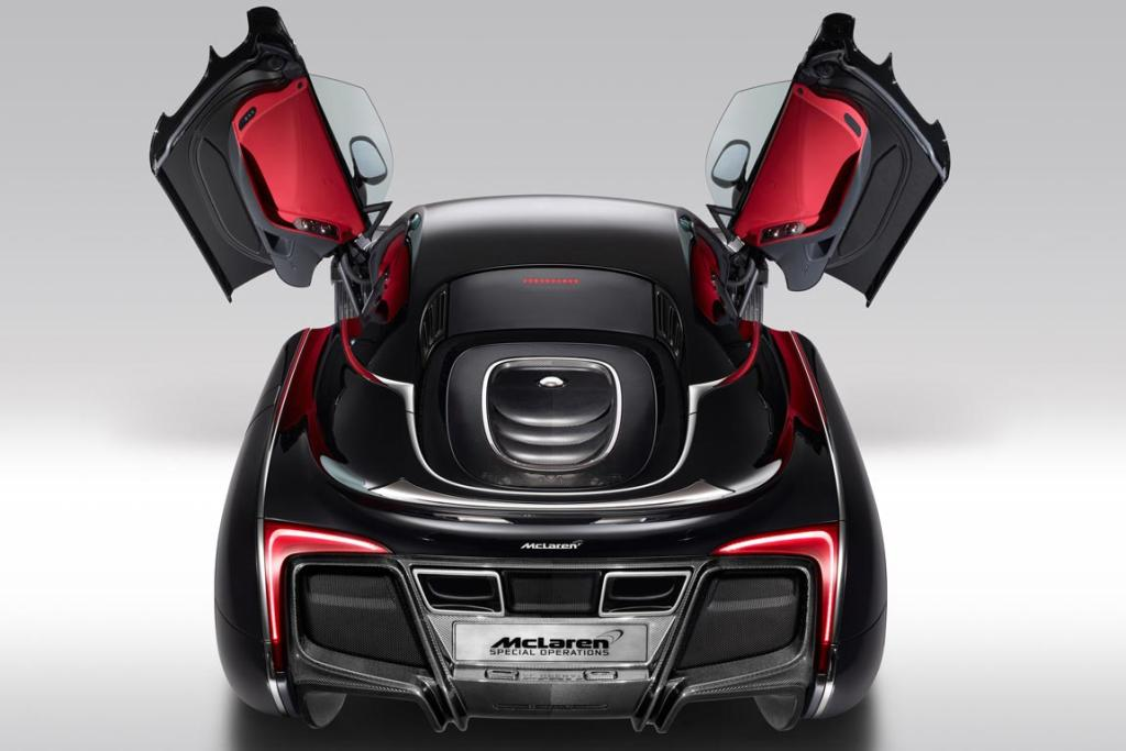 Unveiled during the Pebble Beach Concours d'Elegance in the US, the one-off McLaren X-1 is based on the Ferrari-fighting MP4-12C, but boasts a unique, carbon fibre body that's sure to split opinion at the exclusive event.