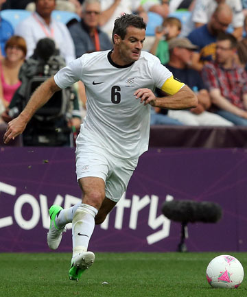 WILLING AND ABLE: Ryan Nelsen will lead the All Whites in their upcoming World Cup qualifying games.