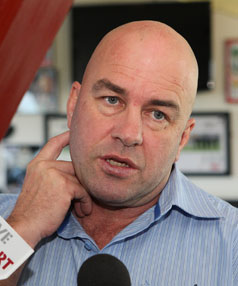 GONE: Brian McClennan is looking for a new job after being sacked by the Warriors.