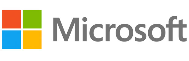 INSIDE THE BOX: The redesigned Microsoft logo.