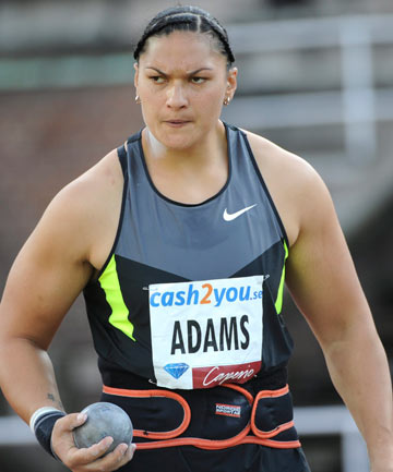 STILL CHASING GOLD: Valerie Adams has said she will return her silver medal to the IOC in person at the organisation's headquarters in Lausanne, Switzerland, tomorrow, and hopes to get an answer about receiving her gold.
