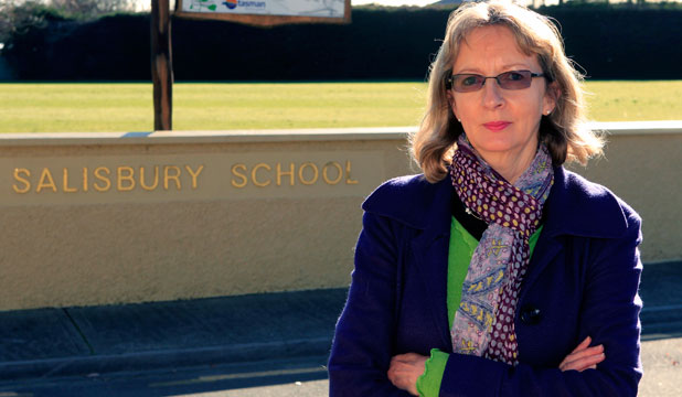 Not giving up: Salisbury School board chairwoman Helen McDonnell will argue for the school to remain open.
