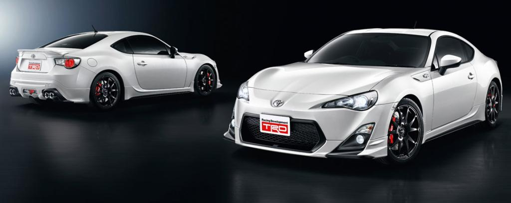 The Toyota 86 in TRD form.