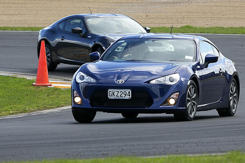 The Toyota 86 sports car.
