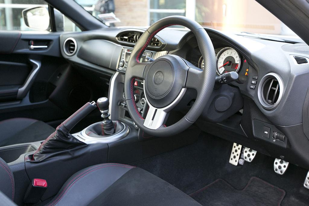 Inside the Toyota 86.