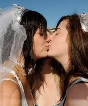 Same sex couples want the right to marry.