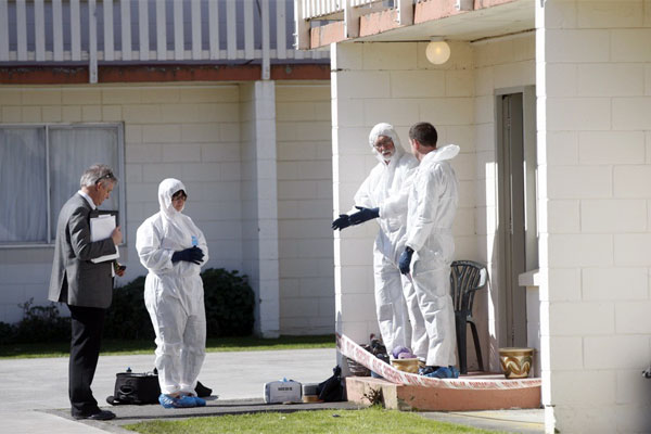 Death investigation in Upper Hutt