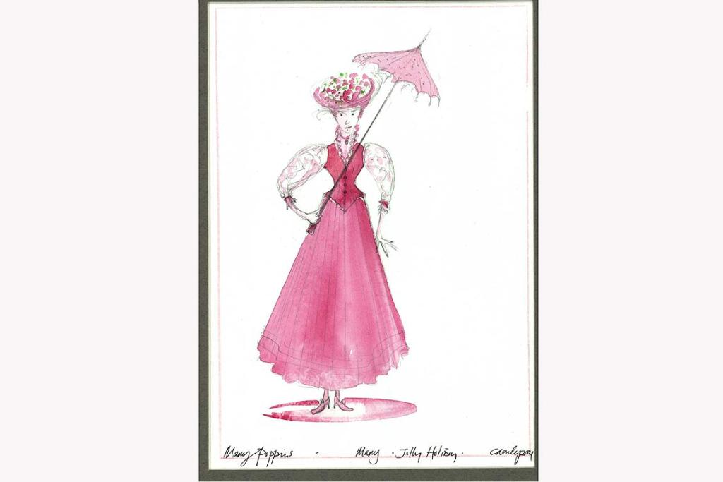 Mary Poppins production drawings