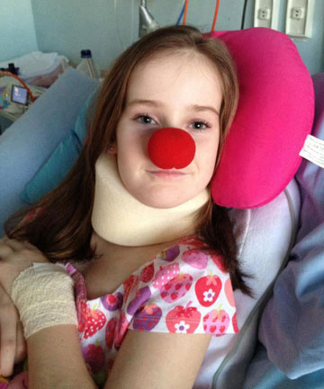 Grace Yeats on Red Nose Day.