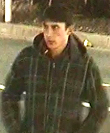 MAN SOUGHT: Police have looked at CCTV video from the area and now want to talk to the man in the footage.
