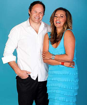SPORTY PRESENTERS: Josh Kronfeld and April Ieremia will host Choice TVs Brunch show.