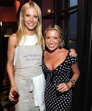 Celebrity trainer Tracy Anderson with client Gwyneth Paltrow.