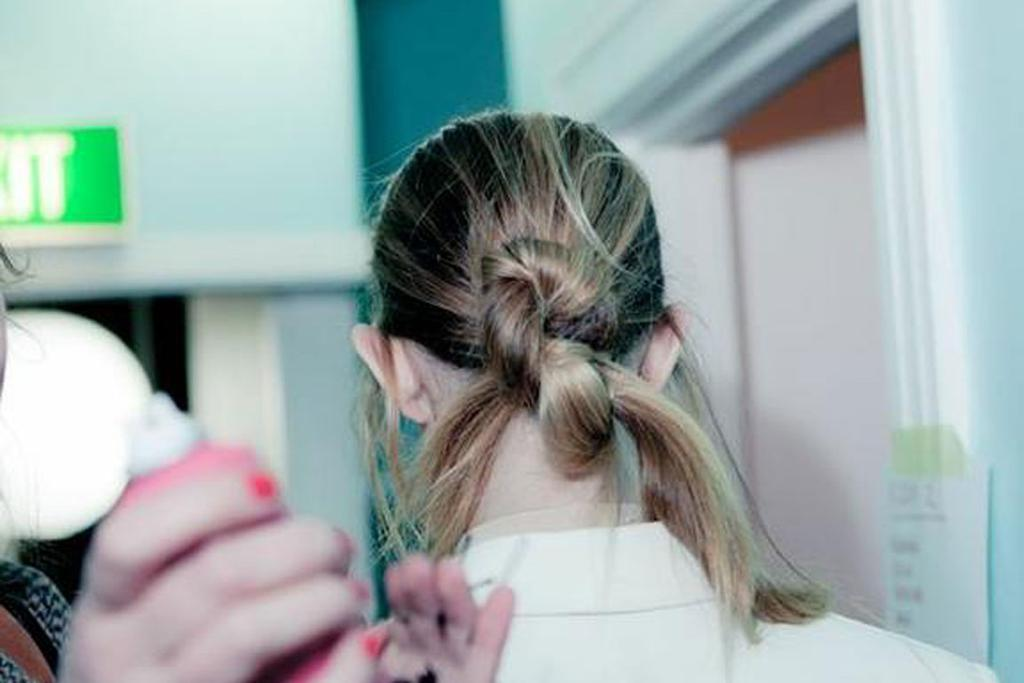 How to: Hair knot
