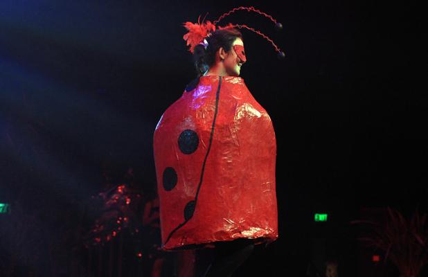 FESTIVAL: The wearable arts section by ChCh South Intermediate and Central New Brighton was inventive and colourful.