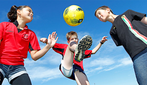 Football Beating Rugby For Kids Stuff Co Nz