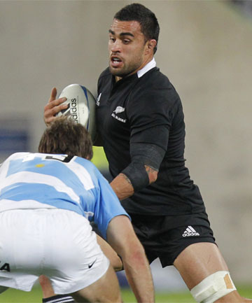 TOP DOG: Liam Messam is now the leading No 6 in the country, says Steve Hansen.