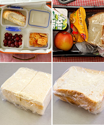 Lunchboxes at a decile 10 and a decile 1 school