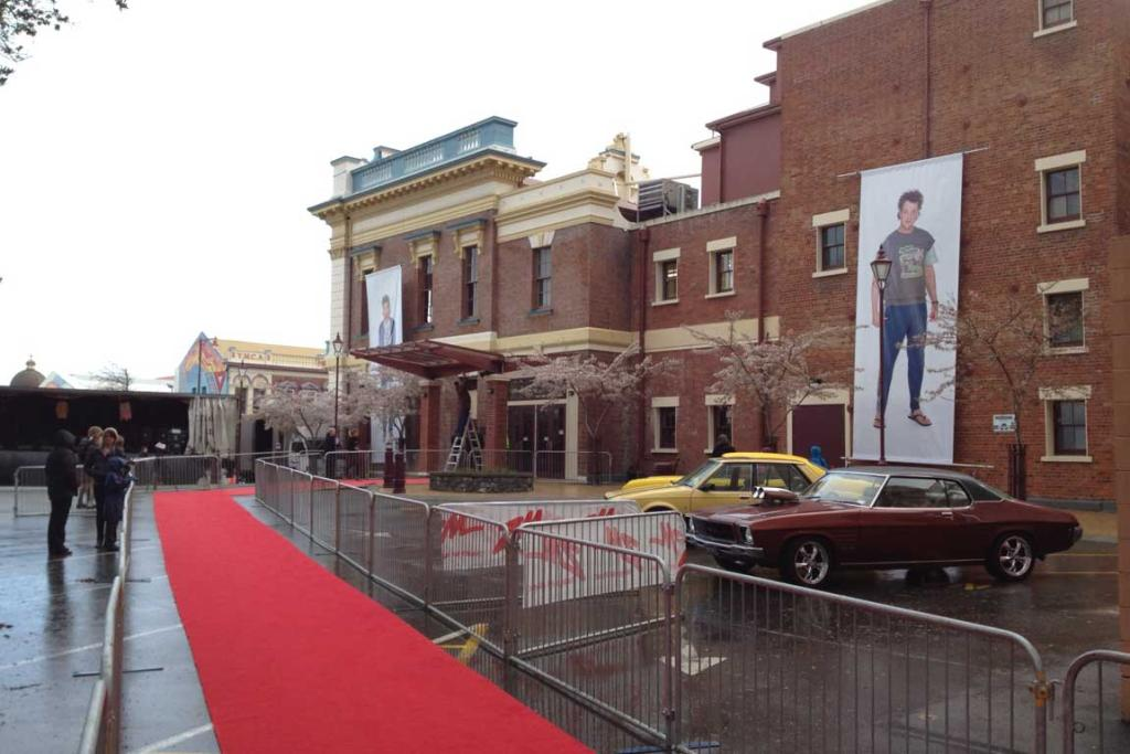 The red carpet is ready to welcome stars and fans of Two Little Boys.