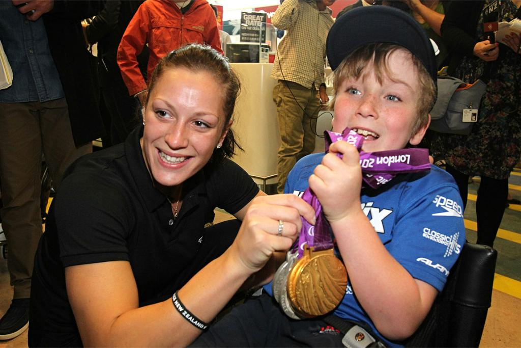 NZ Paralympians return