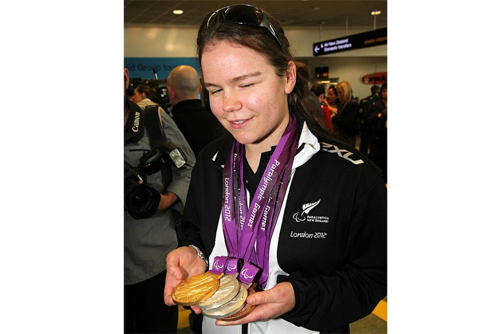 NZ Paralympians arrive home