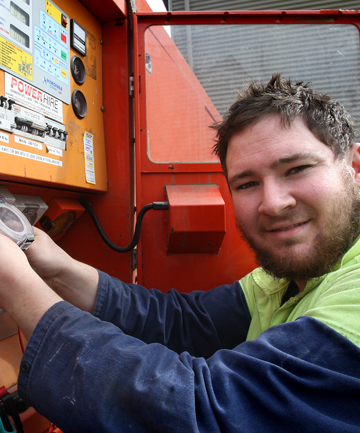 BRIGHT SPARK: Timaru electrician Logan Hanifin will travel to Germany next July to compete in the WorldSkills trades competition.
