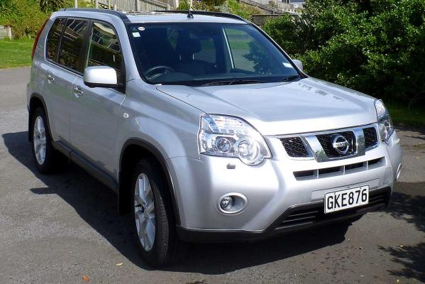 The Nissan X-Trail Ti.