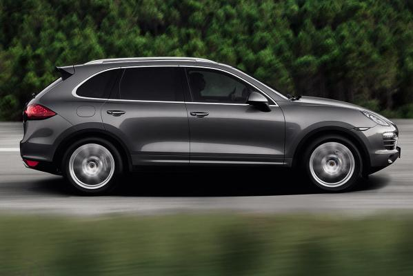 The new Porsche Cayenne S Diesel.