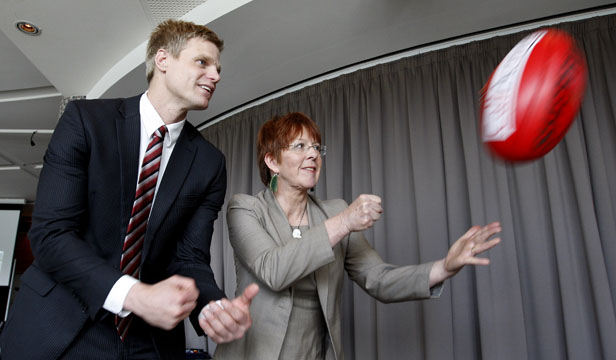 nick riewoldt celia wade-brown