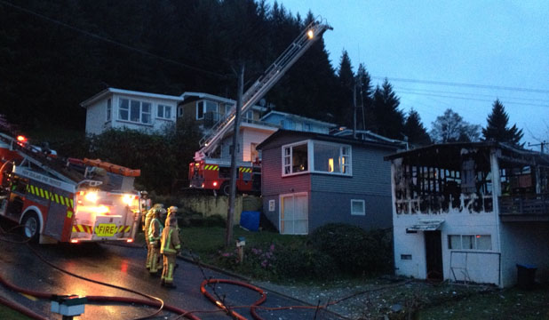 Queenstown house fire