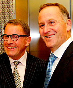 John Key continues to stand strong with John Banks.
