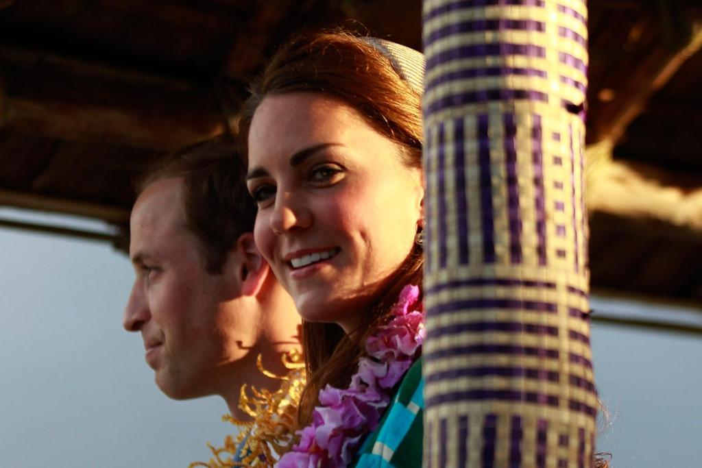 William and Kate arrive in the Solomon Islands.